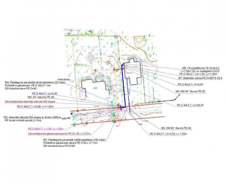 Gāzes vadu projektēšana un būvniecība